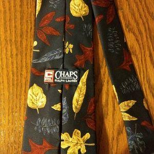 Ralph Lauren Chaps silk fall splendor tie USA